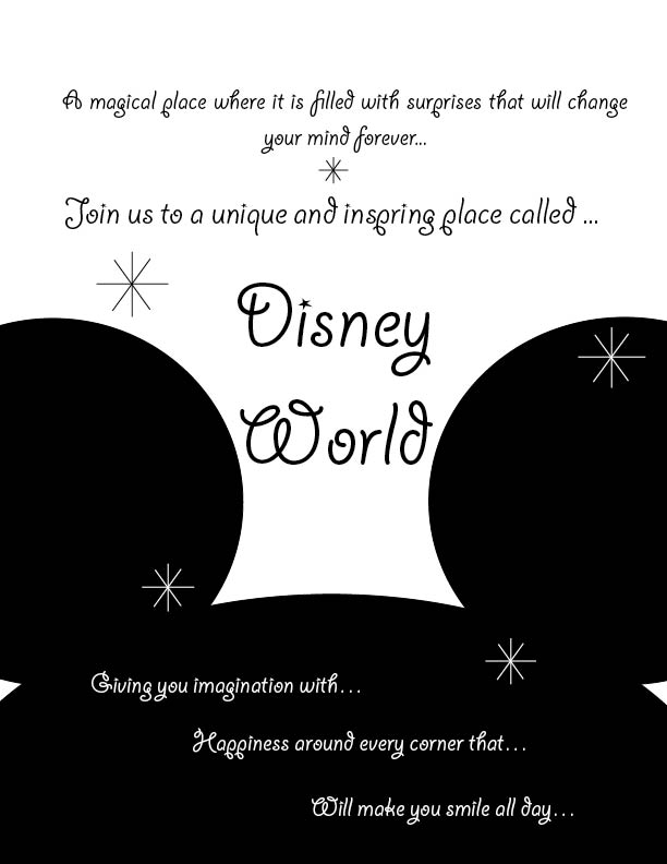 Flyer- Disney Theme 2