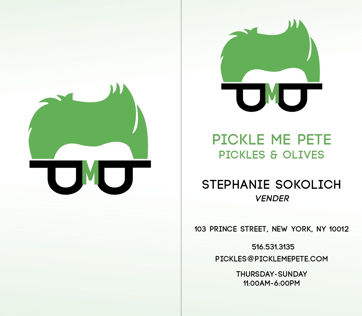 Business Card Front & Back